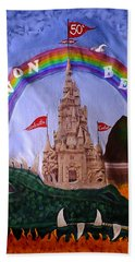 Bath Towel featuring the photograph Sandcastle Shirt by Wendy McKennon