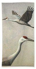 Sandhill Cranes Hand Towel
