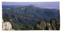 Sandia Mountains, Albuquerque, New Bath Towel