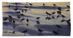 Sandpiper Sunset Convention Hand Towel