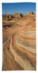 Sandstone Formations Coyote Buttes Bath Towel