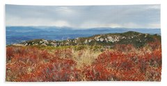 Sandstone Peak Fall Landscape Bath Towel