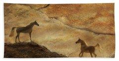 Sandstorm Hand Towel by Melinda Hughes-Berland