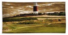 Sankaty Head Lighthouse In Nantucket Bath Towel
