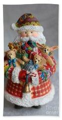 Santa Claus Hand Towel by Ella Kaye Dickey