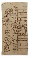 Santa Claus - Feliz Navidad Hand Towel