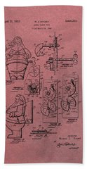 Santa Clause Toy Patent Hand Towel