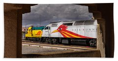 Santa Fe Train Hand Towel