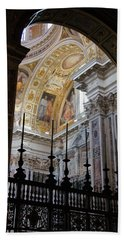 Santa Maria Maggiore Hand Towel by Debi Demetrion