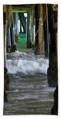 Santa Monica Pier Hand Towel