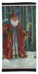 Santa's Journey Bath Towel