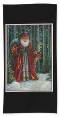 Santa's Journey Hand Towel
