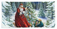 Santa's Little Helpers Hand Towel