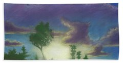 Santee Sunset 02 Hand Towel