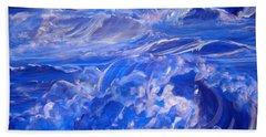 Sapphire Sea Hand Towel