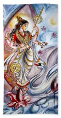Saraswati Bath Towel by Harsh Malik