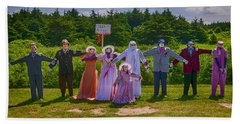 Scarecrow Wedding Hand Towel