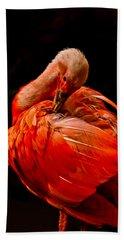Scarlet Ibis Bath Towel