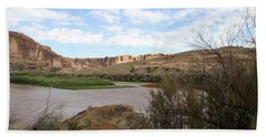 Scenic Upper Colorado River Bath Towel
