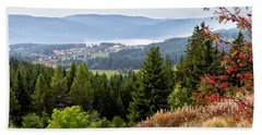 Schluchsee In The Black Forest Hand Towel