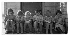 School Children, 1939 Bath Towel