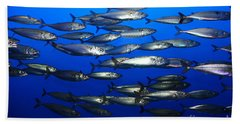 School Of Pacific Sardines 5d24927 Bath Towel