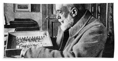Scientist Auguste Forel Bath Towel