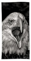 Hand Towel featuring the photograph Screamin Eagle by Adam Olsen