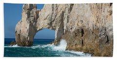 Sea Arch El Arco De Cabo San Lucas Hand Towel