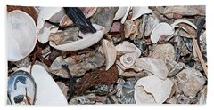 Hand Towel featuring the photograph Sea Debris 1 by WB Johnston