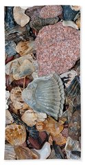 Hand Towel featuring the photograph Sea Debris 2 by WB Johnston