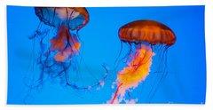 Sea Nettles Bath Towel
