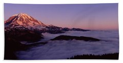 Sea Of Clouds With Mountains Hand Towel