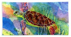 Sea Turtle Hand Towel