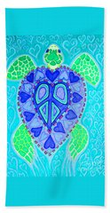 Sea Turtle Swim Bath Towel