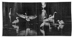 Seabeck Herons Bath Towel