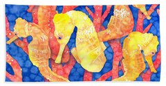 Seahorse Heaven Hand Towel