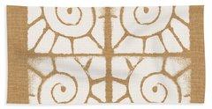 Seashell Tiles Bath Towel