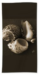 Seashells Spectacular No 1 Bath Towel by Ben and Raisa Gertsberg