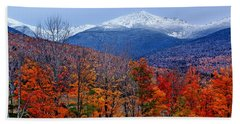 Seasons' Shift #2 - Mount Washington - White Mountains Bath Towel