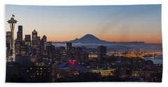 Seattle Morning Glow Hand Towel