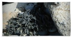 Seaweed And Rocks  Hand Towel by Chalet Roome-Rigdon