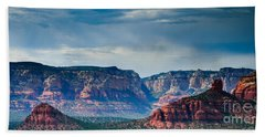 Sedona Arizona Panorama Bath Towel