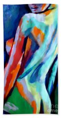 Seduction Bath Towel by Helena Wierzbicki