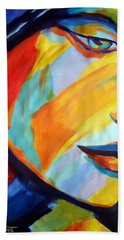 Hand Towel featuring the painting Sentiment by Helena Wierzbicki