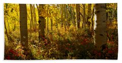 September Scene Bath Towel