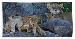 Serengeti Pride Bath Towel