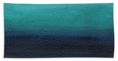 Serenity- Abstract Landscape Bath Towel