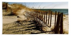Dune Hand Towel by Iconic Images Art Gallery David Pucciarelli