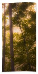 Serenity In The Forest Bath Towel